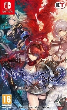 Nights of Azure 2 Bride of the New Moon Nintendo Switch